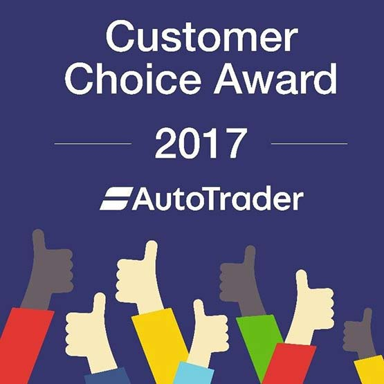 Autotrader Customer Choice Award 2017